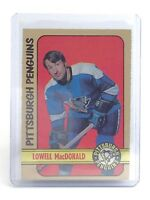 1972-73 Lowell MacDonald #214 Pittsburgh Penguins OPC OPee-Chee Hockey Card I184