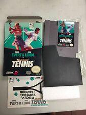 CHRIS EVERT & IVAN LENDL IN TENNIS  NES COMPLETE IN BOX