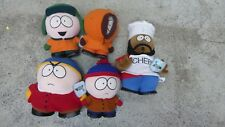 5 SOUTH PARK 1998 VINTAGE COMEDY CREATIONS SOFT TOY CHARACTER DOLLS