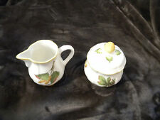 """Villeroy & Boch  """"Parkland"""" Creamer and Covered Sugar Bowl/EXCELLENT CONDITION"""