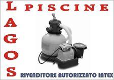 Filtro a Sabbia INTEX Pompa Piscina per Lt 6000 /Ora cod. 28646 Depuratore