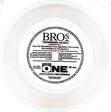 Bros - Changing Faces Excerpts From... - Scarce UK Limited Flexi Disc 7""