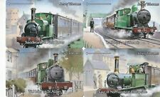 JERSEY TRAINS RAILWAY SET OF MINT PHONECARDS