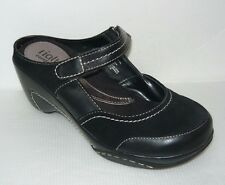 Rialto Black Mary Jane Wedge Mule Shoes Size 8M