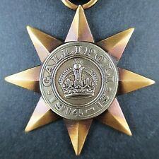 AUSTRALIAN GALLIPOLI STAR MEDAL FULL SIZE MADE BY A.J. PARKES * ONLY 1300 MADE