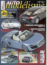 AUTO MODELISME n°161 10/2010 PORSCHE 959 AUDI R8 Spyder 505 en rallye