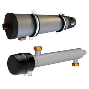 Rohrheizelement Heizelement für Zentralheizungsanlagen, Wärmepumpen 3-9 kW