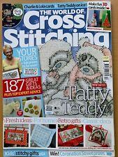 Issue 171 The World of Cross Stitching Magazine Christmas Festive Ideas  BR586