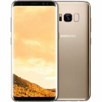 "New Samsung Galaxy S8 + Plus Dual Sim G955FD 4G 64GB 6.2"" Unlocked - Maple Gold"