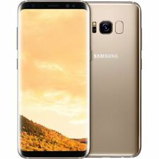 "New Samsung Galaxy S8 + Plus Dual Sim G955FD 4G 64GB 6.2"" Unlocked - Maple Gold"