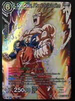 Carte Dragon Ball Super SON GOKU, L'EVEIL DE LA COLERE BT1-059 SR DBZ FR NEUF