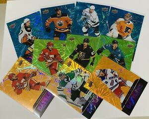 2020-21 UD SERIES ONE DAZZLERS INSERTS BLUE GREEN ORANGE  YOU PICK TO COMPLETE
