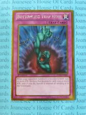 Bottomless Trap Hole PGLD-EN069 Gold Rare Yu-Gi-Oh Card 1st Edition New