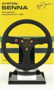 Model Flying Car Formula 1 Lotus Renault Senna 1985 MINICHAMPS 1:2 Static