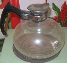 Vintage Cory Glass Coffee or Tea Pot Carafe