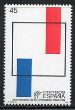 España estampillada sin montar o nunca montada 1989 SG3002 200th aniversario de Revolución Española