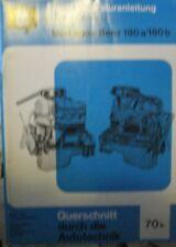 * MERCEDES BENZ 180a 180b  180 a 180 b Ponton Reparaturanleitung Nr. 70b *