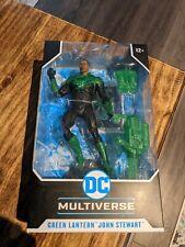 "McFarlane Toys DC Multiverse Modern Comic Green Lantern John Stewart 7"" Inch Act"
