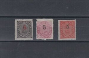 Portugal - Portuguese India Native Nice Complete Set MNG