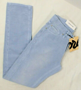 THE CORDS Mens 5-Pocket High Waist Straight Fit Corduroy Pant, Blue, Various NWT