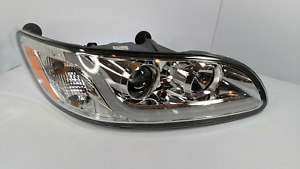 (RH) Chrome Headlight W/ Dual Function LED Running Light for Peterbilt