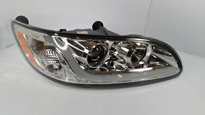 (RH) Chrome Headlight W/ Dual Function LED Running Light for Peterbilt