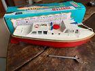 Sutcliffe Jupiter Ocean Pilot Cruiser Boat Vintage TinPlate WindUp Clockwork Toy