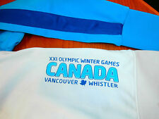 LADIES XXI Olympic Winter Games FULL ZIP TRACK GYM JACKET WOMENS SZ S Canada