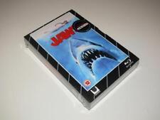 Blu-Ray Movie + DVD ~ Jaws ~ Roy Scheider ~ Blu Ray VHS Style ~ NEW