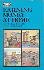EARNING MONEY AT HOME WHICH ? BOOKS MONEY MAKING SECOND INCOME ACCOUNTS TAX