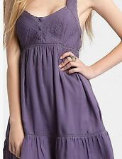 NEW Guess Shadow Ruffle Babydoll Sun dress size 3