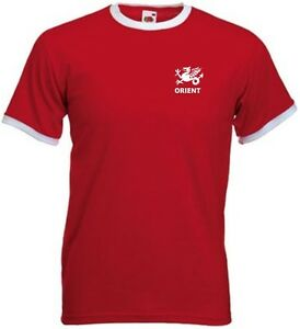 Leyton Orient FC Retro Style Adult Football Team T-Shirt  - All Sizes Available