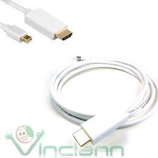 Cavo U2H adattatore mini displayport thunderbolt ad HDMI display port 1,8m Gold