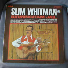 "LP 12"" 33 rpm SLIM WHITMAN - BIRMINGHAM JAIL - 1969"