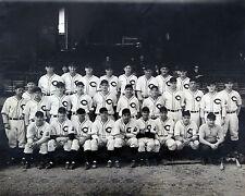 Cleveland Indians 1937 8x10 B&W Team Photo