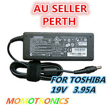 FOR TOSHIBA 75W Satellite LAPTOP CHARGER 19V 3.95A