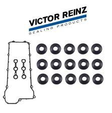 For BMW Valve Cover Gasket Set+Nut Seals e34 e36 325i 325is 525i M3 REINZ OEM