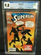 Supergirl #4 (2006) Churchill Variant Cover CGC 9.8 Z070