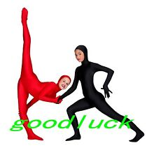 Open Face Lycra Spandex Party Cosplay Costume Full body Zentai Suit--S-XXL