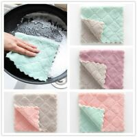 1/4 x Absorbent Towel Cleaning Cloth Sink Wipe Super Soft Towel for Home Kitchen