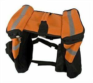 Rac Dog Walking Back Pack Hiking Reflecting Waterproof Gear For Medium Large Dog