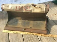 Vintage Remington Electric Shavers Lighted Display, Very Shabby , Needs Work