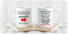 Double Sided Coffee Mug Daycare Teacher Daycare Teacher Gift Personalized Mug