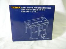 Tomix N Gauge Accessories. #3047 Concrete Pier for Double Track with Viaduct. 4