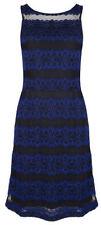 Vestidos de mujer de color principal azul de encaje
