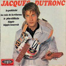 JACQUES DUTRONC LA PUBLICITE FRENCH ORIG EP