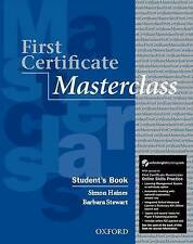 First Certificate Masterclass Student's Book with Online Skills Practice Pack, S