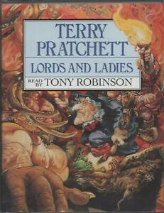 LORDS AND LADIES (Discworld 13) by Terry Pratchett ~ Two-Cassette Audiobook