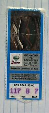 August 18, 1987 Richmond Braves Ticket Stub vs Rochester Red Wings