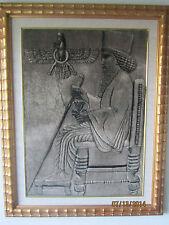 Persian Pictorial Tabriz Rug- Iran